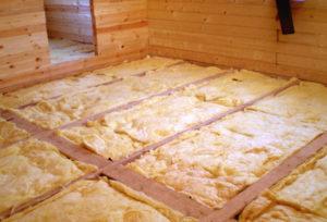 Утепление полов в деревянном загородном доме